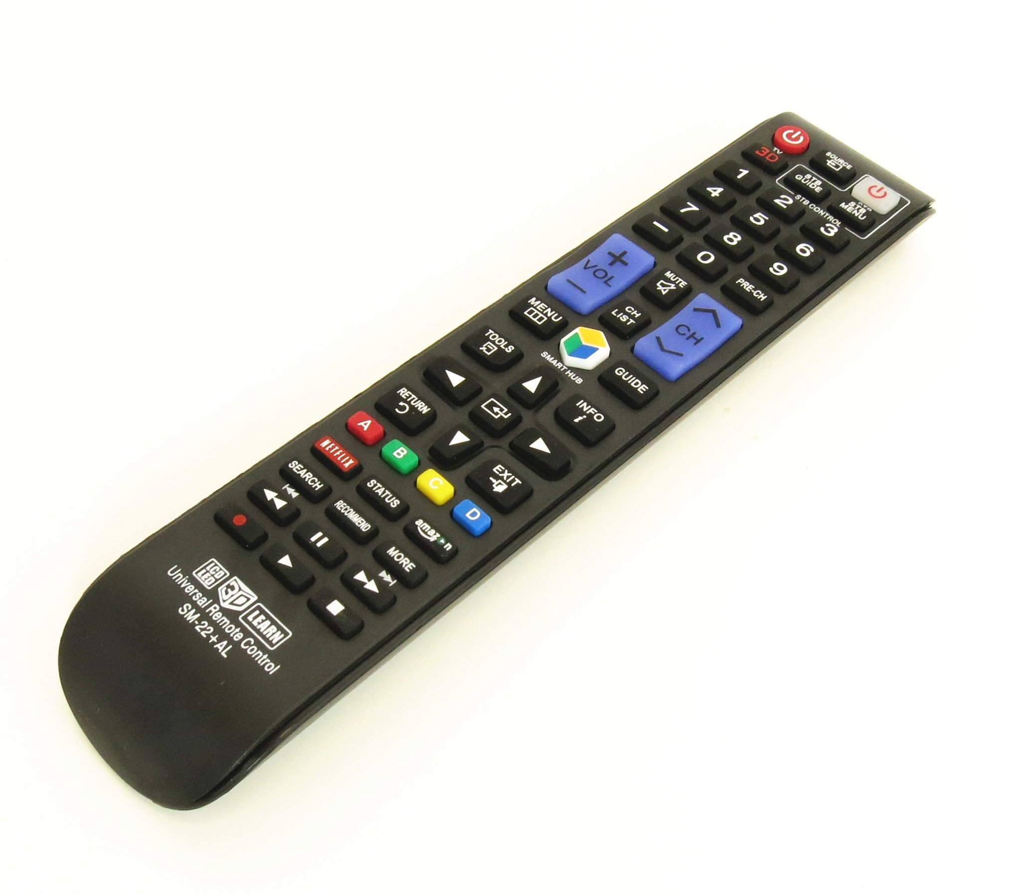 New Nettech BN59-01178W Universal Remote Control for All Samsung BRAND TV, Smart TV - 1 Year Warranty(SM-22+AL) by Nettech