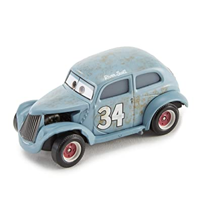 Disney Cars Pixar Die-Cast River Scott Vehicle: Toys & Games