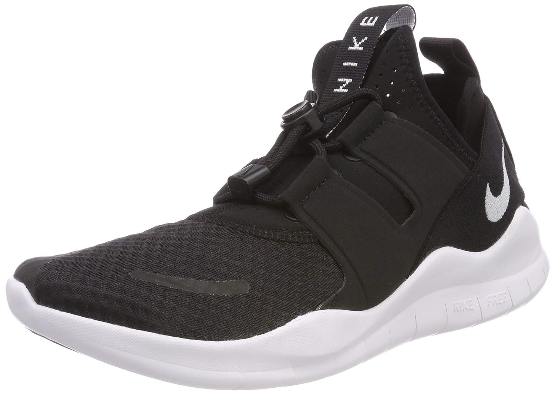 Nike Free RN CMTR 2018, Zapatillas de Running para Hombre 46 EU Negro (Black/White 001)