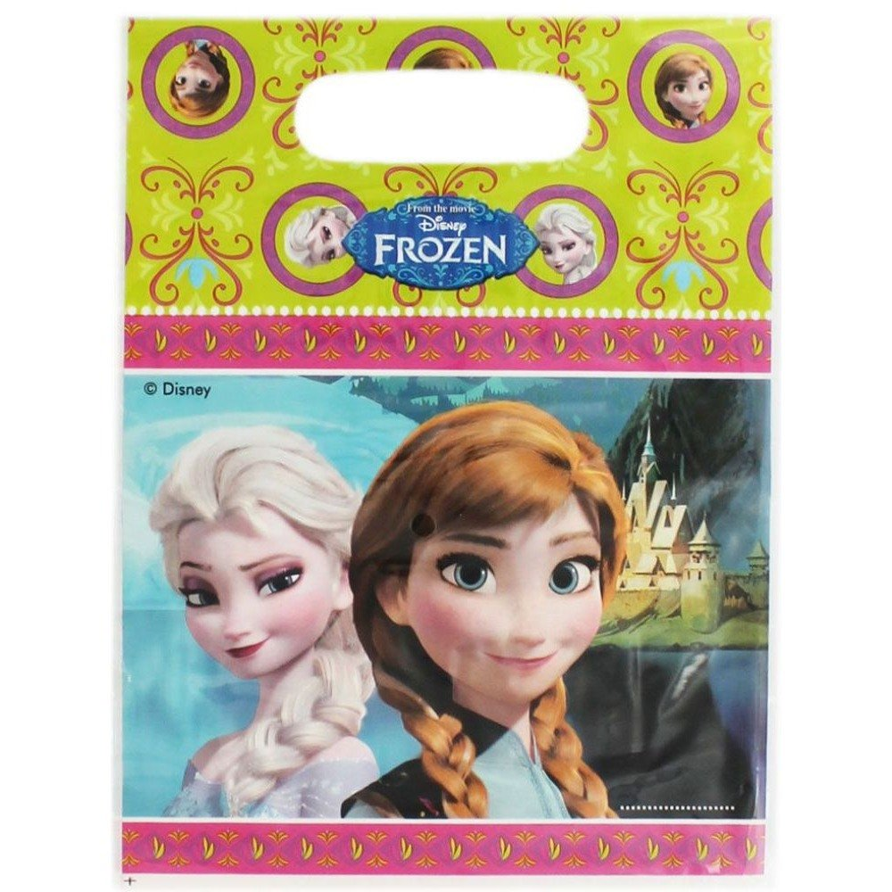 Disney FROZEN PARTY LOOT BAGS Princess Birthday Party Supplies Girls Gift Bags