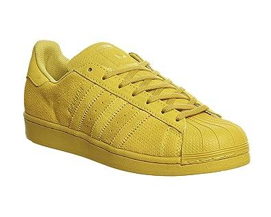 Adidas Herren Originals Schuhe Superstar Gelb Aq4167