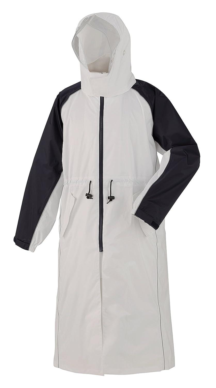スミクラ 防水透湿 レインパーカ ホワイト 4L (180cm~) 全2色 7サイズ 収納袋付き 2層レイヤー N-655 B0714QHQBC 4L (180cm~)|ホワイト ホワイト 4L (180cm~)