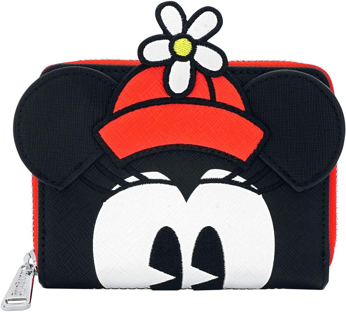 Loungefly Minnie Mouse Purse Positively Minnie Polka Dot Officiel Zip Around