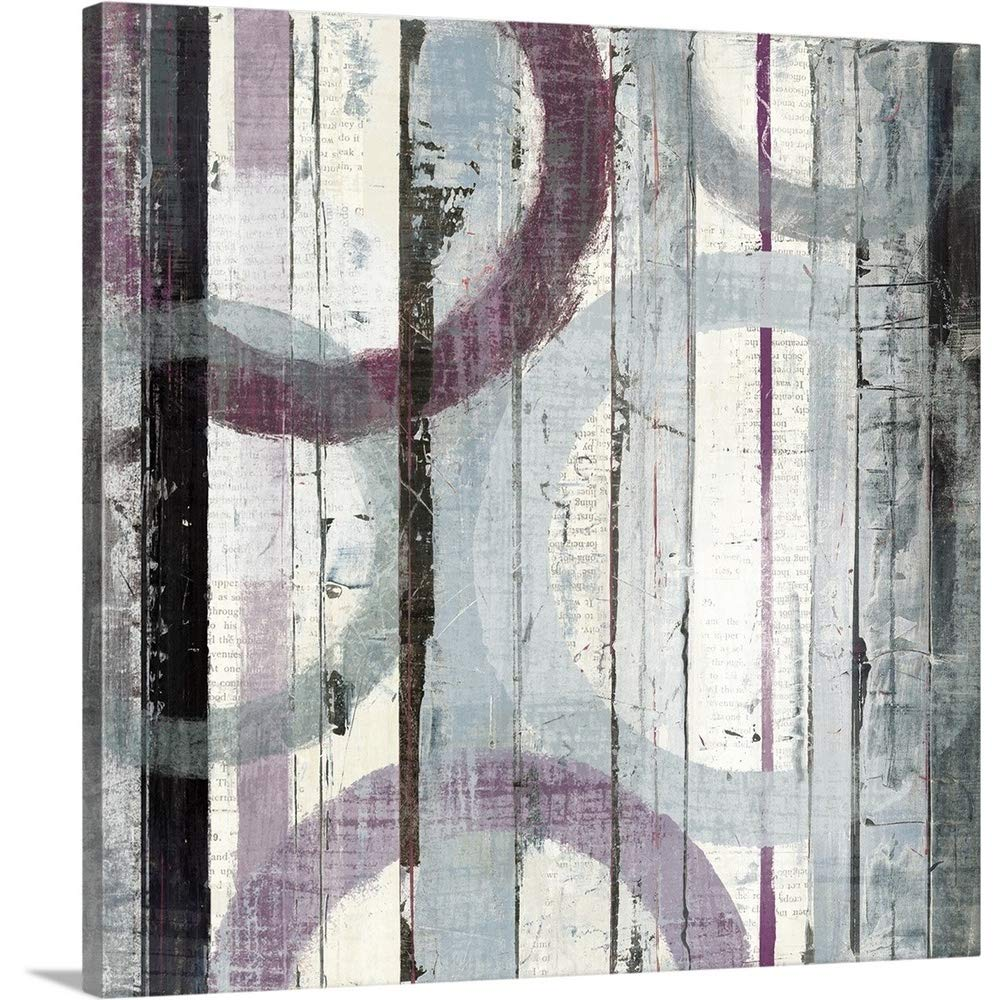 Mike Schickプレミアムシックラップキャンバス壁アート印刷題名Plum Zephyr I 30