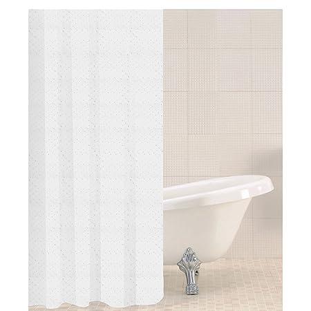 Sabichi Sparkle Polyester Shower Curtain