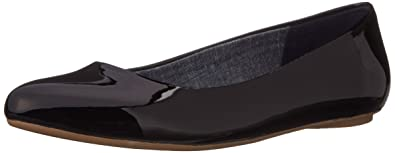 Dr. Scholl's Women's Really Flat Really,Black Patent,7 W US