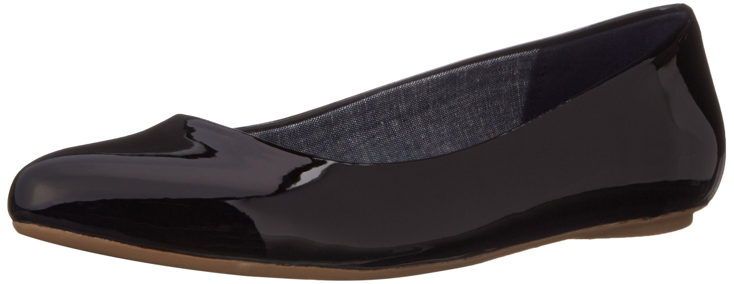 Dr. Scholl's Women's Black Patent Flat  Shoes - 9 C/D US