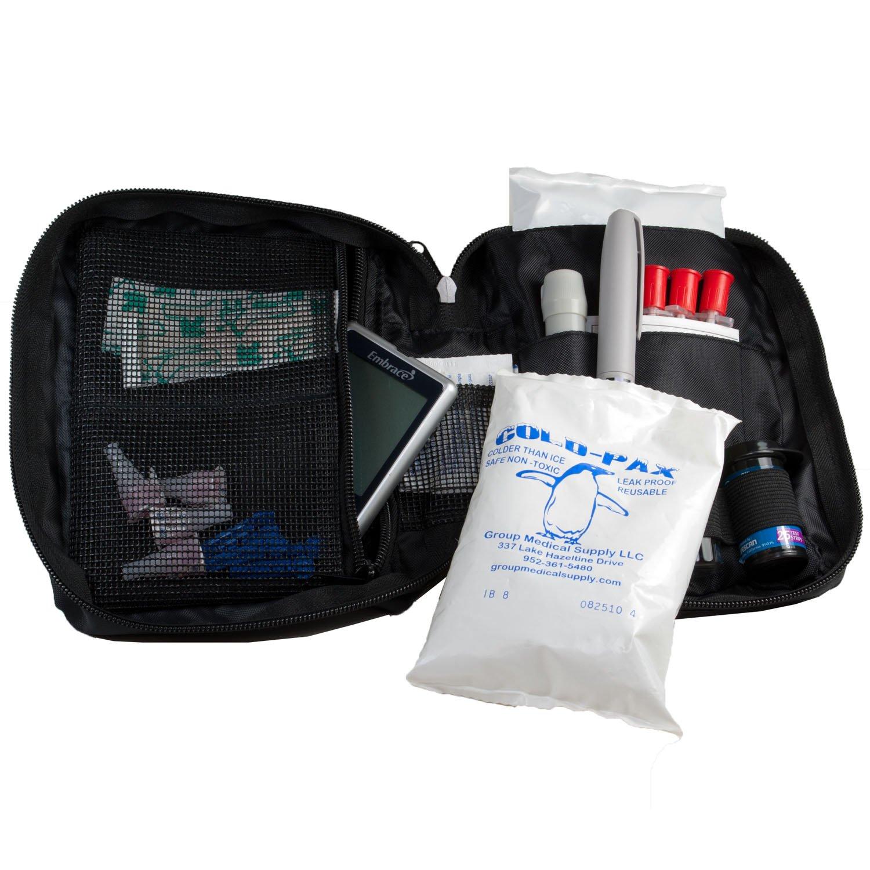 Dia-Pak Classic Diabetic Case w/Extra 8oz. cold-pax (Black)