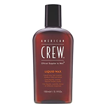 Oferta amazon: American Crew Cera Liquida (Fijación Media y Brillo Medio) 150 ml