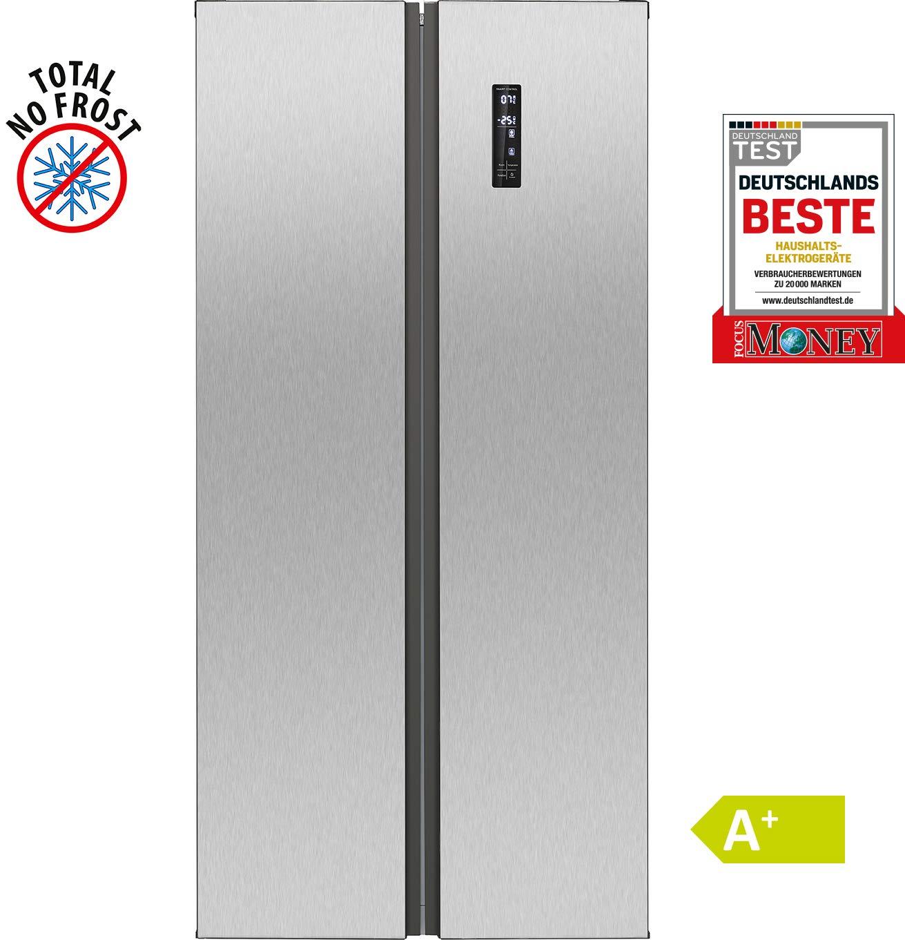 Bomann SBS 2350 IX // Side-by-Side Kombi // 455 litros de ...