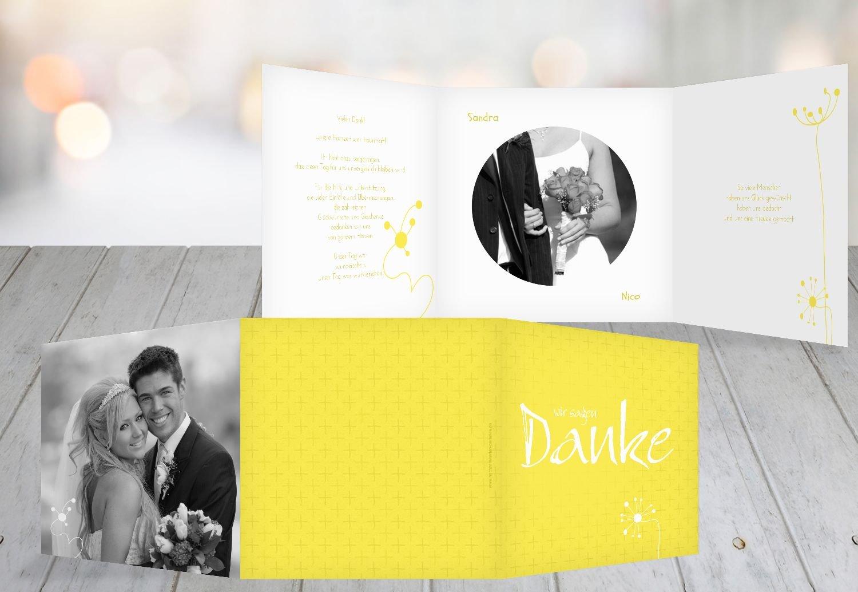 Kartenparadies Danksagung für Hochzeitsgeschenke Hochzeit Dankeskarte abstrakte abstrakte abstrakte Blaumen, hochwertige Danksagungskarte Hochzeitsglückwünsche inklusive Umschläge   20 Karten - (Format  145x145 mm) Farbe  Sonnengelb B01N6TCDWD   Rich-pünk be961a