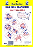 Aunt Martha's State Flowers Iron On Transfer Pattern Collection, All 50 States