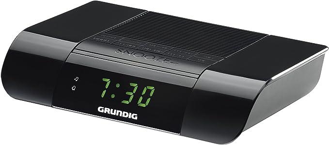 Radio Despertador Grundig KSC 35 Black: Grundig: Amazon.es ...