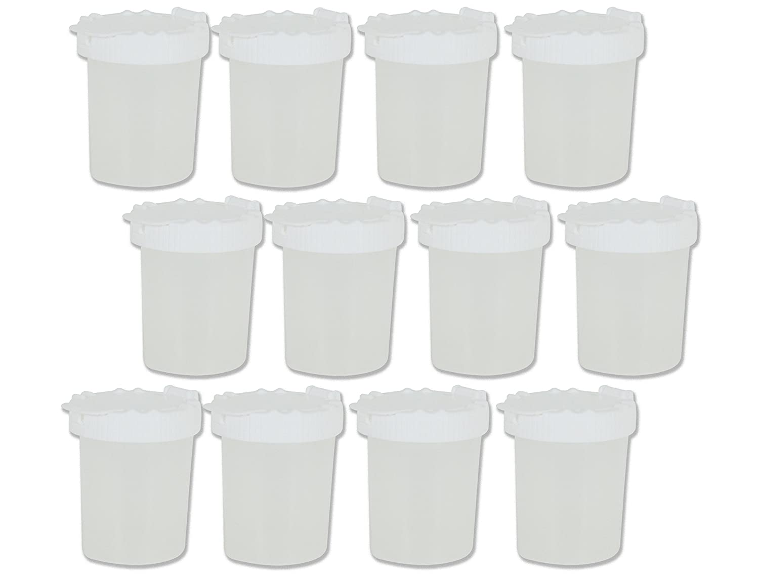 Sargent Art (SARAD) 22-1697 Non-Spill Paint Cups, White