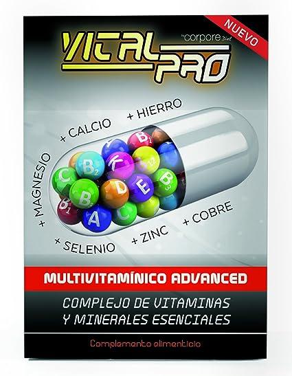 Vital Pro Perlas Multivitamínico Advanced - 30 Cápsulas