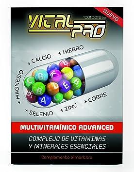 Vital Pro Perlas Multivitamínico Advanced - 30 Cápsulas: Amazon.es: Salud y cuidado personal