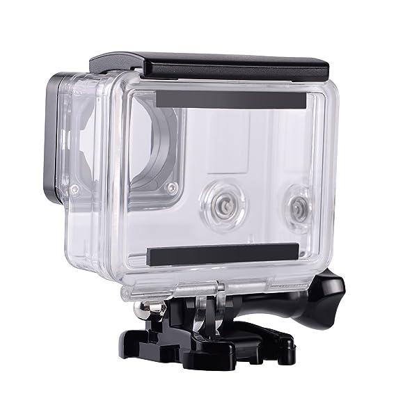 Funda resistente al agua protectora para GoPro Hero 4, Hero 3 + y Hero 3 (para uso bajo el agua, resistente al agua hasta 45 m), de Suptig