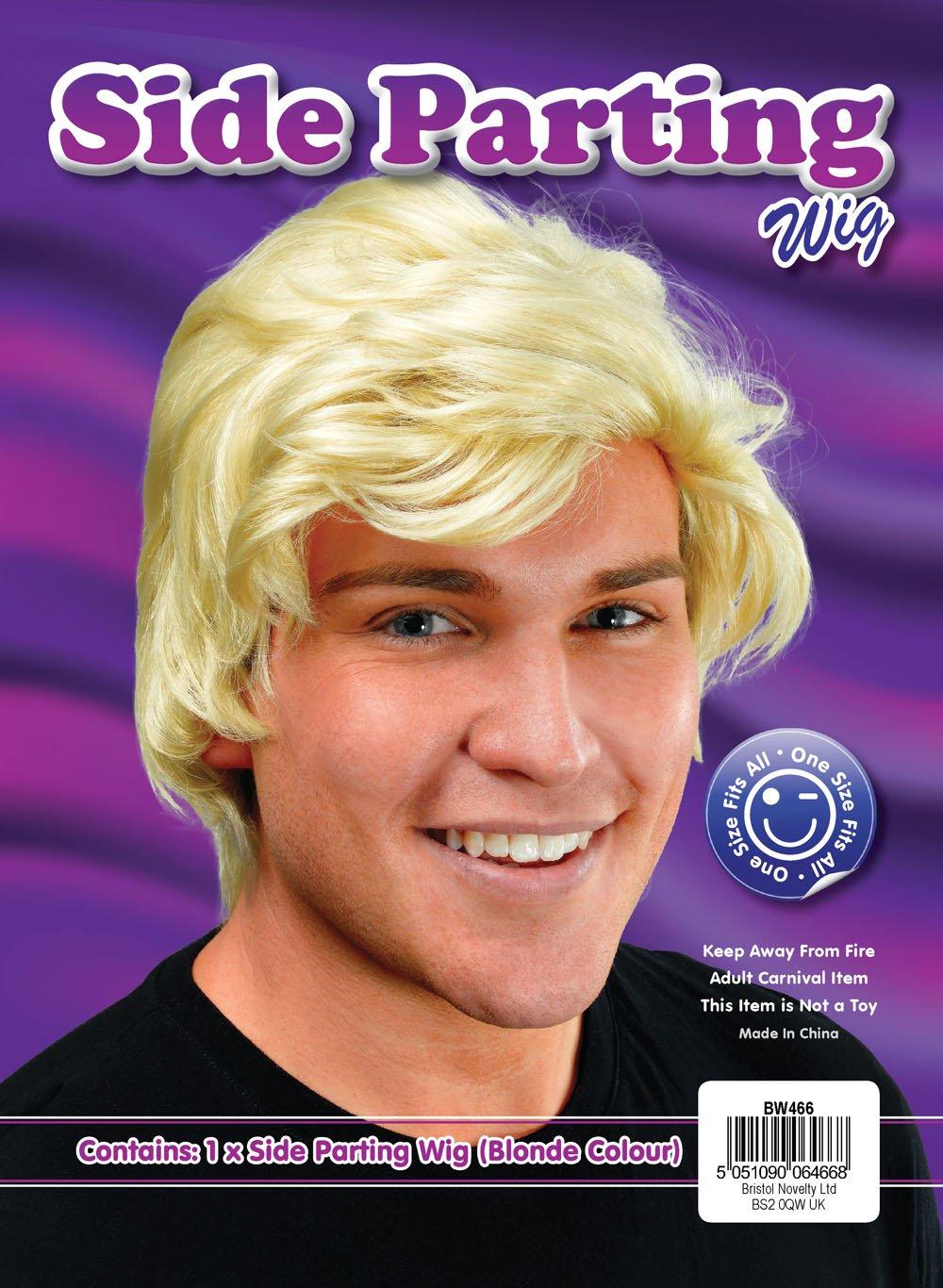 Bristol novit/à BW466/uomo bionda lato parrucca taglia unica