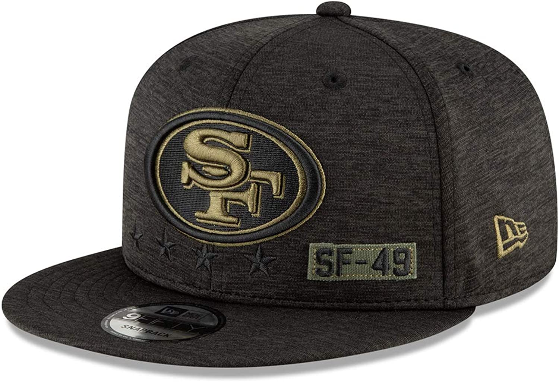 San Francisco 49ers schwarz New Era 9Fifty Snapback Cap