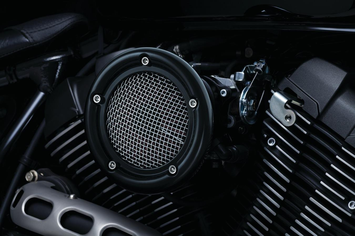Kuryakyn 9877 Velociraptor Air Cleaner - Black