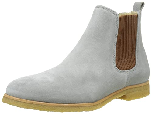 Shoe The Bear Nomi S, Botas Chelsea Mujer, Beige (141 Dark Grey), 39 EU Shoe The Bear
