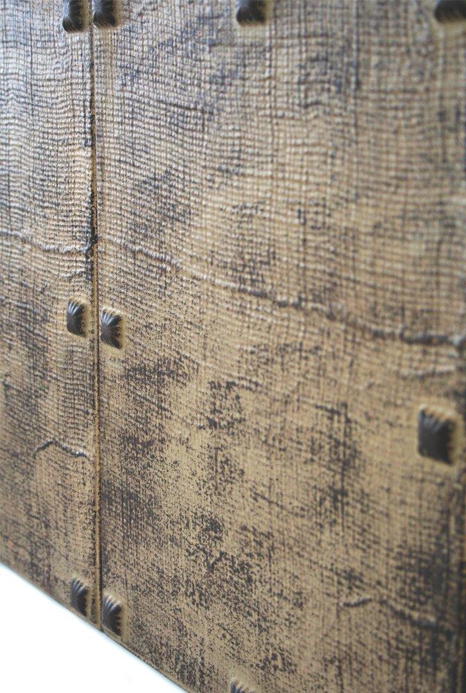 Mod. Castellano DIY montaje f/ácil. Decoraci/ón pared autoadhesiva Revestimiento pared y techo R/ústico Panelados Panel decorativo 3D 8 pcs 30 x 40 cm