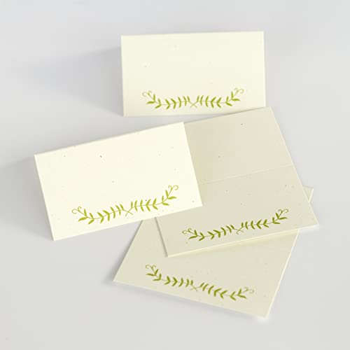 20 folded escort cards wedding place cards write on escort cards 4 - Folded Place Cards