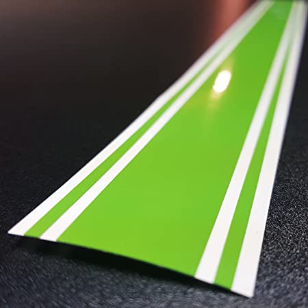 Lime Green - PMS 369C ORACAL 6x72 Vinyl Racing Stripe Decal 651 by A1A Sales