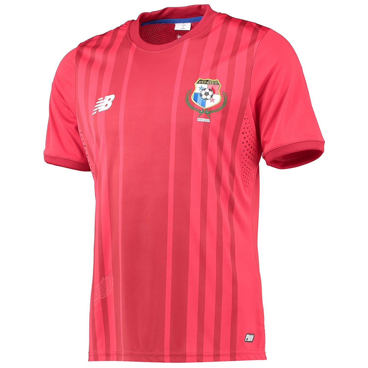buy online 9c90c 113f5 Amazon.com: New Balance Panama Home Jersey (Red): Sports ...
