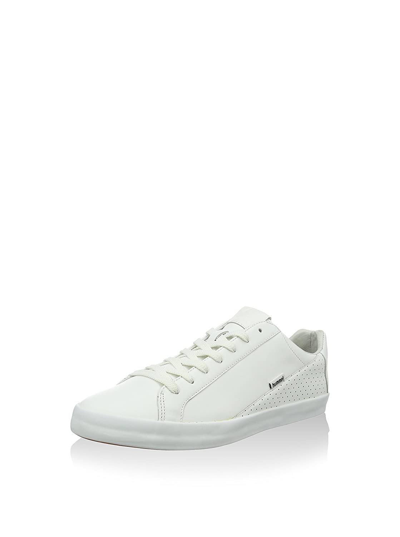 Hummel Cross court leather - Weiß