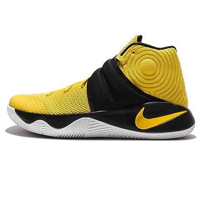 new styles 62078 c0509 Amazon.com   Nike Kyrie 2 (Tour Yellow Black-White 11)   Fashion Sneakers