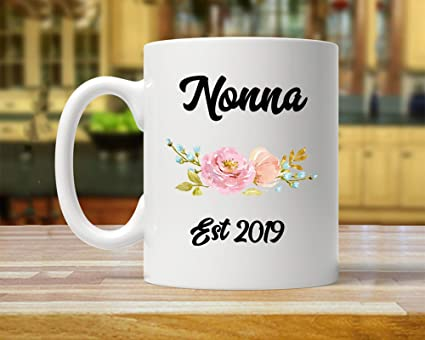 Christmas Ideas 2019 Gifts.Amazon Com Nonna 2019 Gift Future Nonna Gift New Nonna