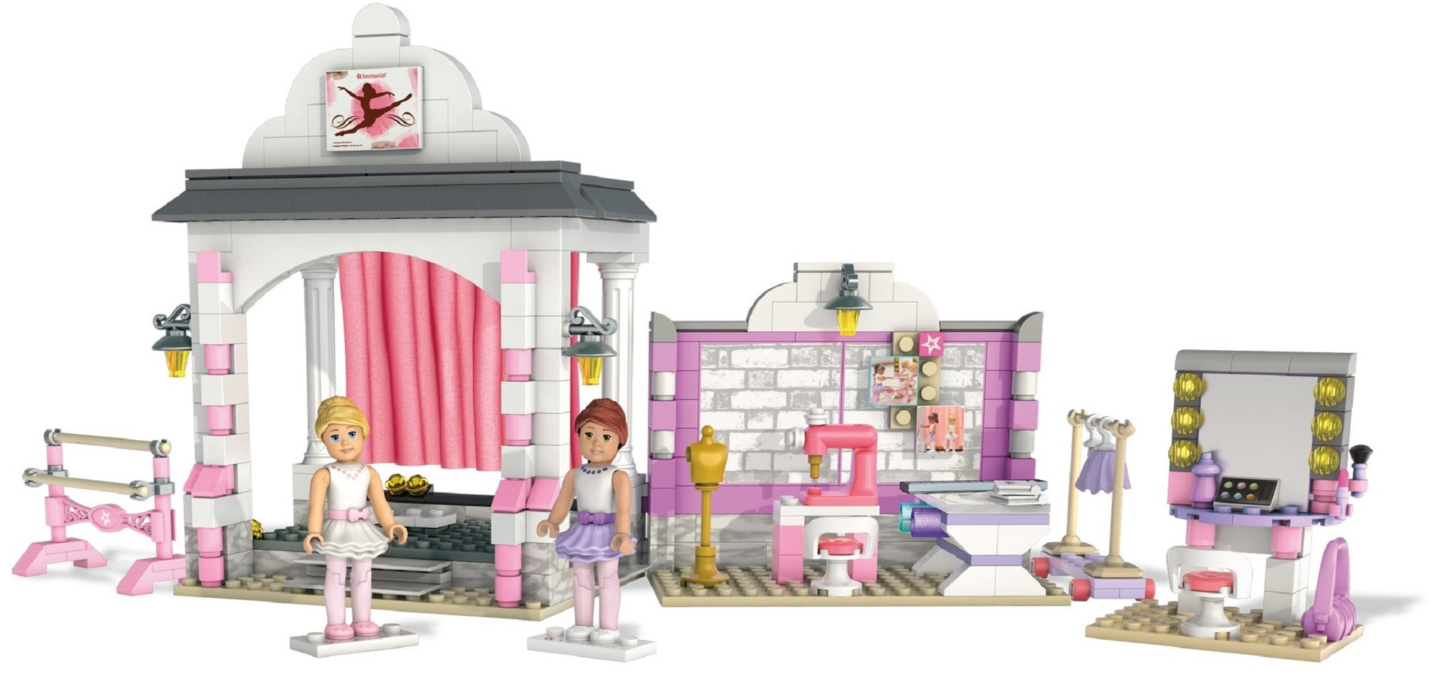 Mega Bloks American Girl Isabelle's Ballet Recital Construction Set