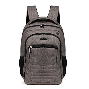 Advocator Slim Business Backpack with Padded Sleeve for Laptop Up to  14 quot  MacBook Air Pro a83b4f368f3cb
