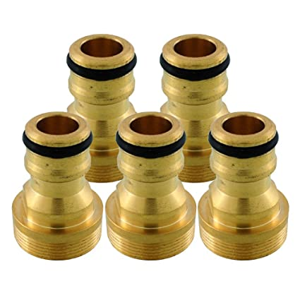 Brass Tap to Hose Connector Home Garden Water Pipe Quick Adaptor Low Price High