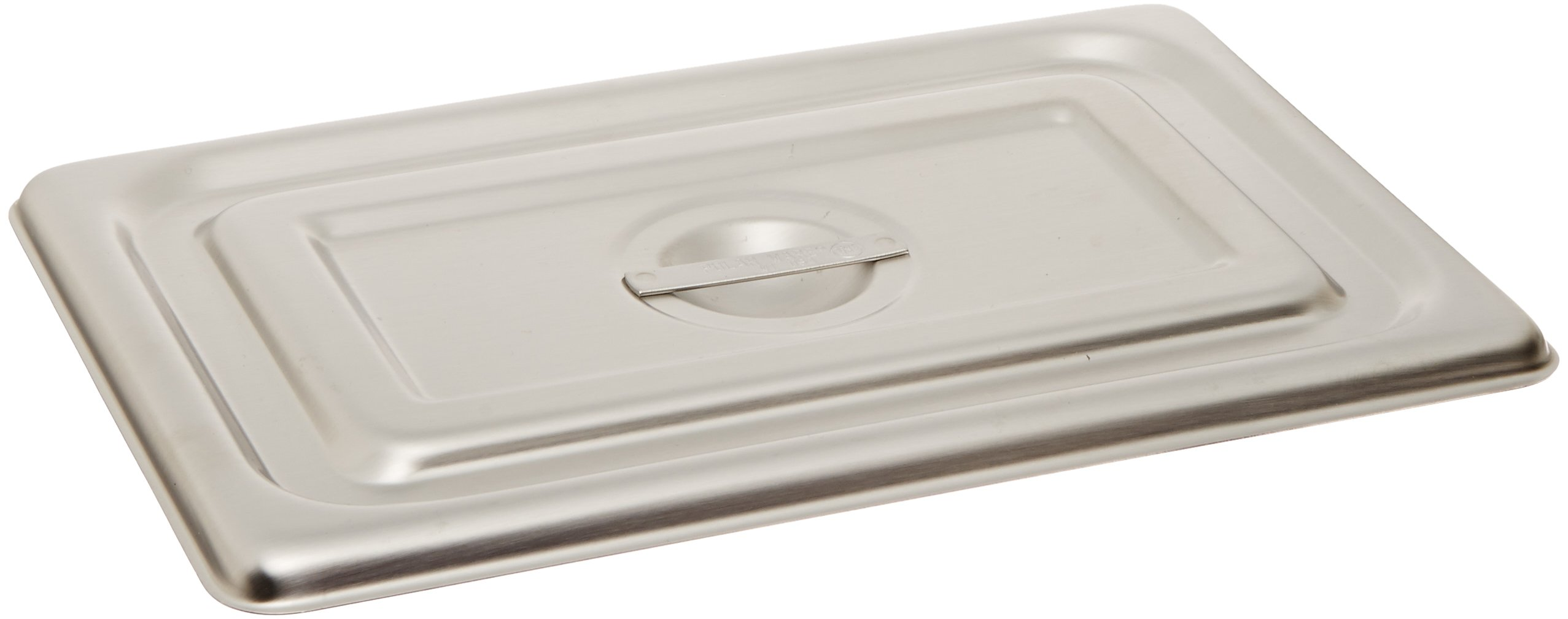 Polar Ware 1002-2 Stainless Steel Solid Flat Cover for Instrument Tray, 10'' L x 6-1/2'' W by Polar Ware