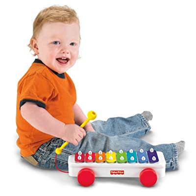 Fisher-Price Brilliant Basics Classic Xylophone: Toys & Games