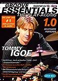 Tommy igoe: Groove Essentials–Along the Play (Edición Alemana). Para Percusión