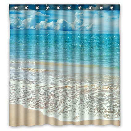 Amazon ZHANZZK Beach Ocean Waves California Paradise Waterproof