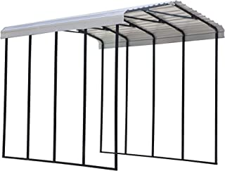 product image for Arrow Shed 14' x 20' x 14' 29-Gauge Metal RV Carport and Multi-Use Shelter for Large Vehicles, 14' x 20' x 14', Eggshell
