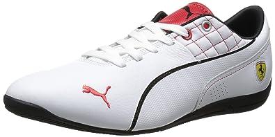 dfd2dc440441 Puma Drift Cat 6 SF Flash Mode-Sport-Motorsport Sneaker, Weiß Rot ...