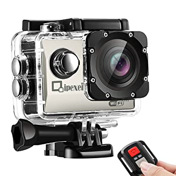 WIFI Sports Action Camera, Waterproof 1080P FHD Camcord...