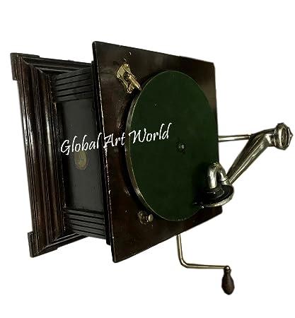 Global Art World Antique Old 1920 Hmv His Masters Vioice