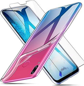 AROYI Funda Huawei Y9 2019 + Protector de Pantalla, Carcasa Huawei ...