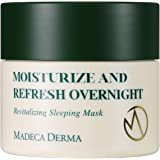 Madeca Derma Revitalizing Sleeping Mask, Overnight Sleep Mask, Korean Skin Care, Anti-Aging, Moisturizing, Nourishing & Recov