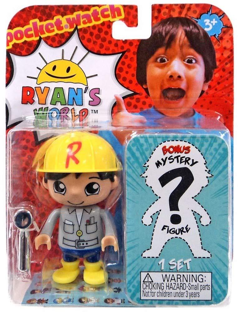 Deep Six Ryan /& One Mystery Ryans World Action Figure Set 3