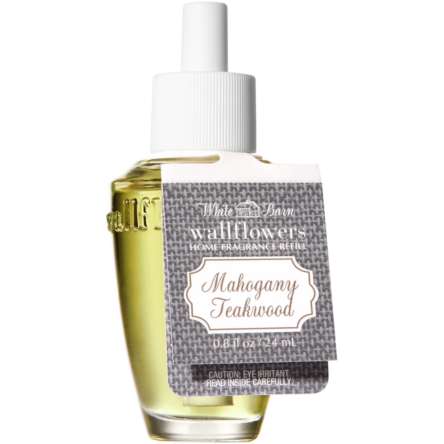 White Barn Bath and Body Works Wallflowers Refill New Look! (Mahogany Teakwood)