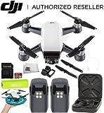 DJI Spark Portable Mini Drone Quadcopter Essential Palm Landing Pad Bundle (Alpine White)