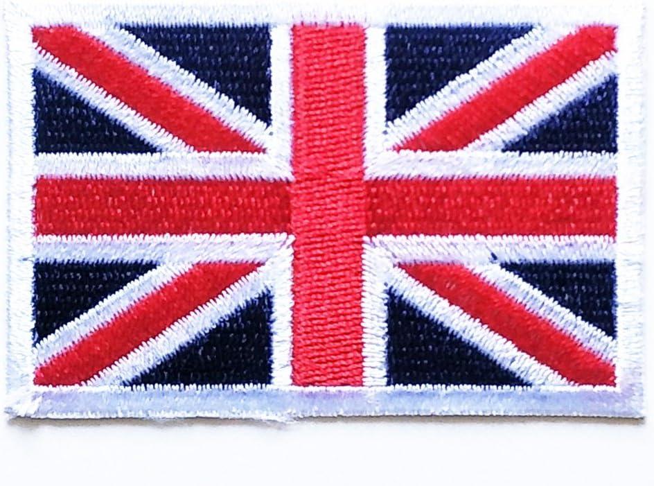 UK United Kingdom Iron-on Patch National Flag Applique Union Jack Badge Coat Sew