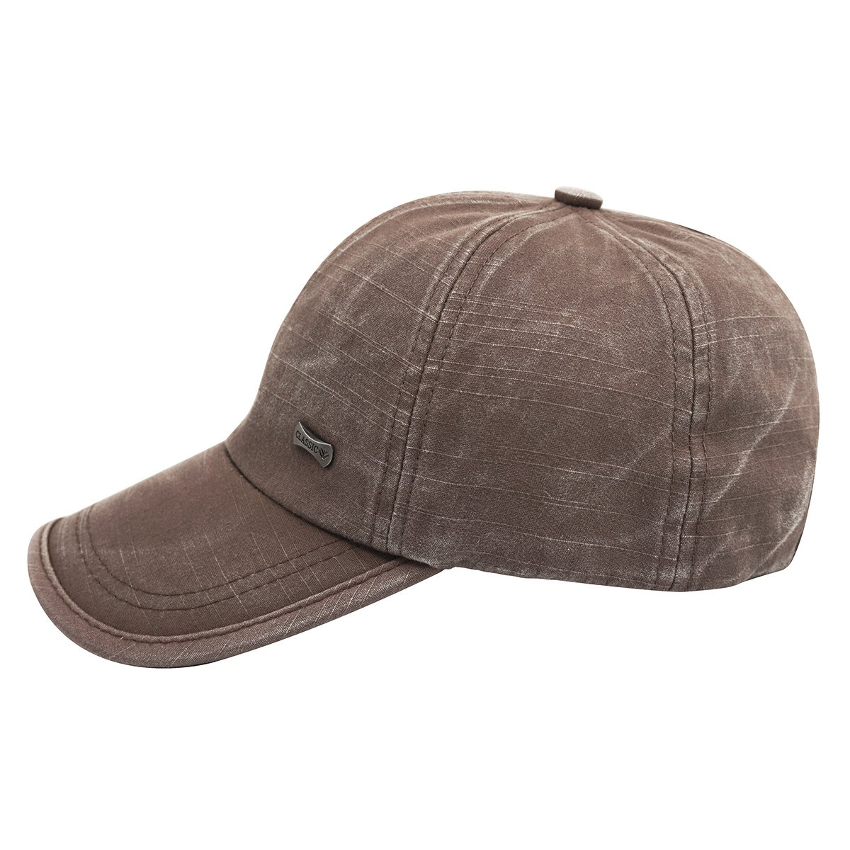 a500f982 Glamorstar Trendy Baseball Caps Adjustable Distressed Washed Cotton Ball Hat  Brown at Amazon Women's Clothing store: